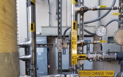 Custom Stainless Soft Water Distribution Manifold