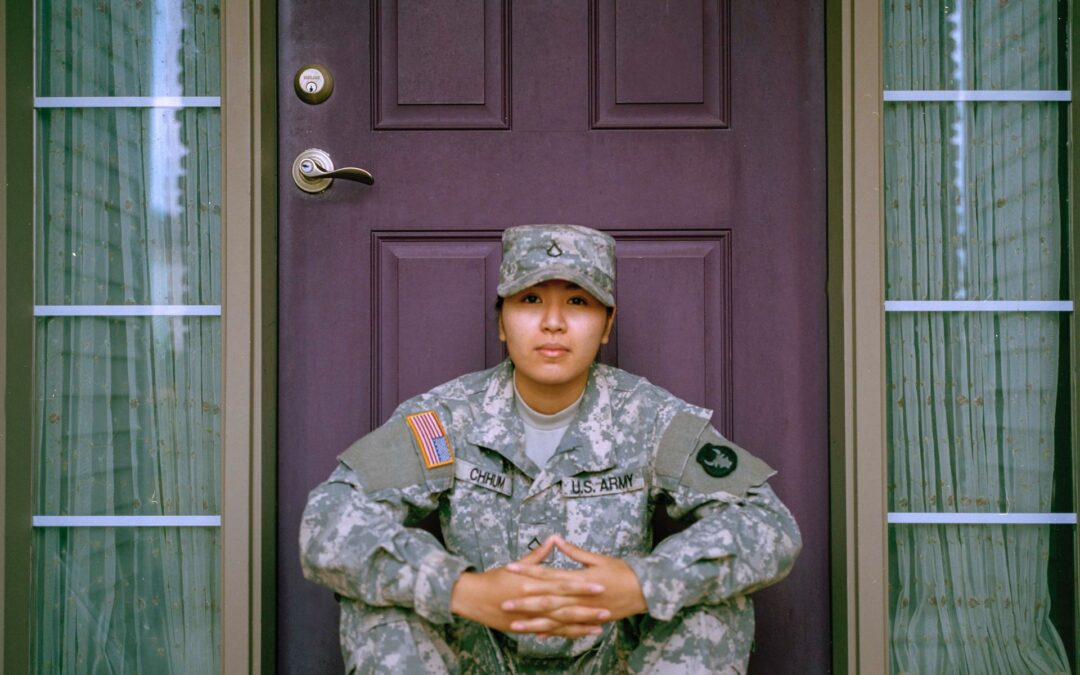 Soldier at Front Door by Jessica Radanavong on UnSplash
