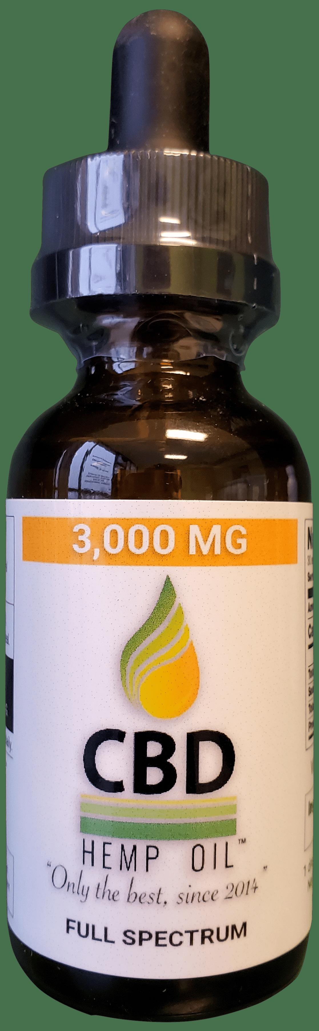 CBD Hemp Oil Dayton 3,000 mg