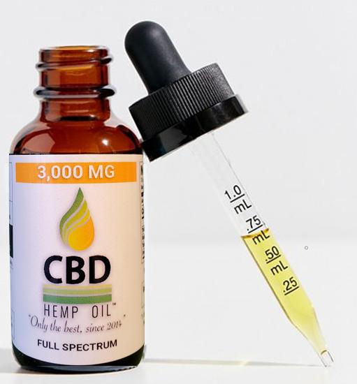 CBD Oil Dayton 3000 mg with dropper