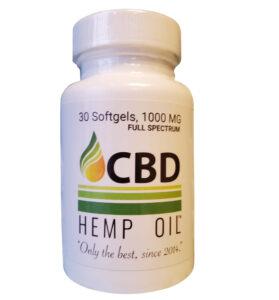 CBD Oil of Dayton Softgel Capsules