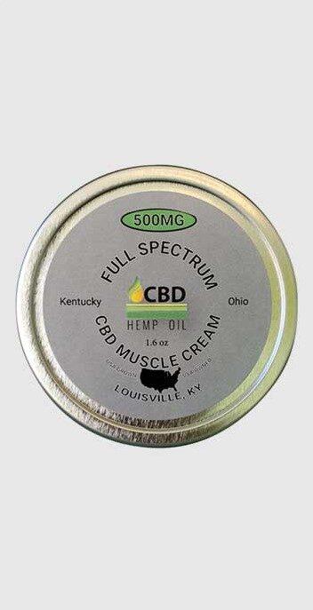 CBD Oil of Dayton 500 mg muscle cream