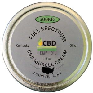 cbd oil of dayton muscle cream 500 mg