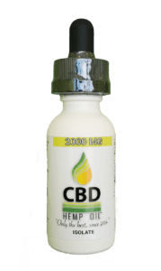 CBD Oil of Dayton Isolate 2000 mg