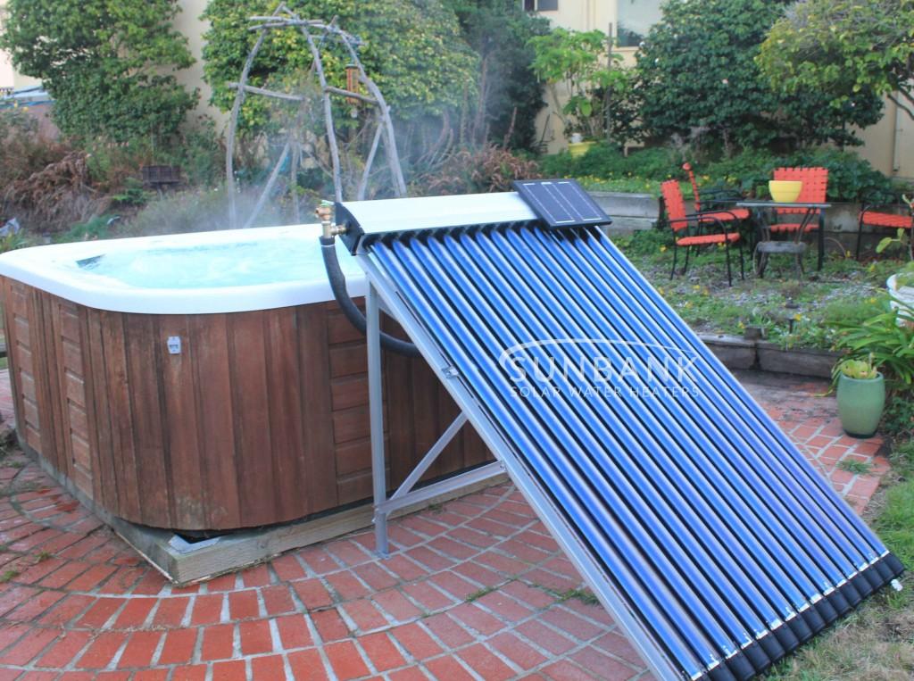 Sunbank solar hot tub kit