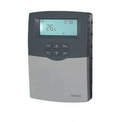 solar thermal temperature controller, aux heater