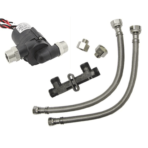 Instant Hot Water, recirculation valve and pump
