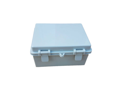 Photo of the Sunbank Smart Home Controller weatherproof enclosure junction box
