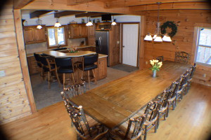 20 Person Dining Area and Kitchen