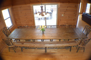 Oversized Dining Table for Family Gatherings