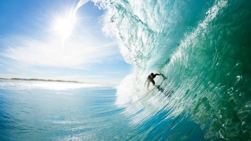 Surfing in Los Cabos