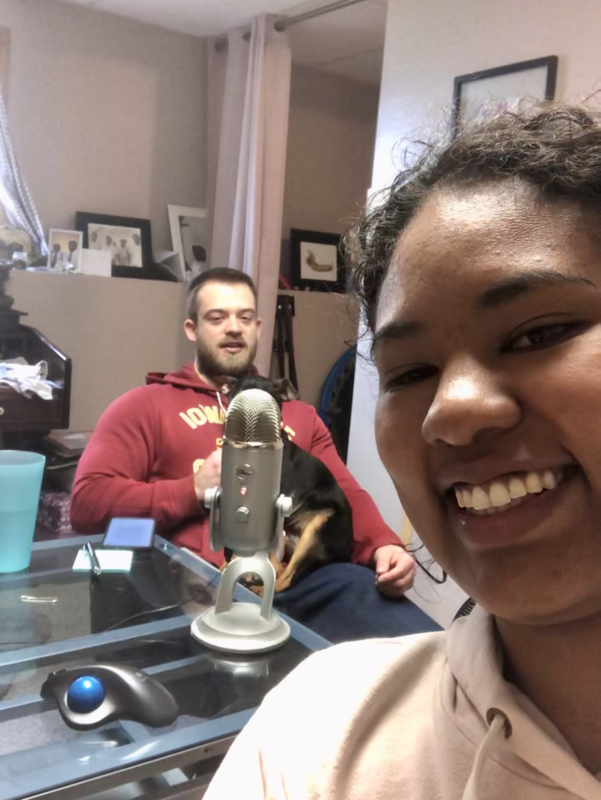Recording Ep. 1 of The BioStudio Podcast
