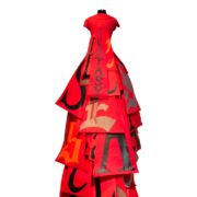 red ecstasy dress