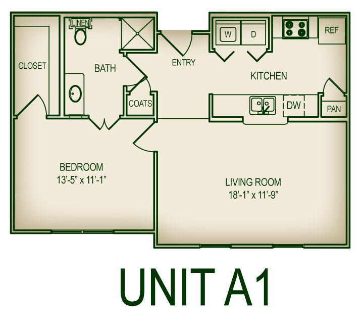 Floorplan A1