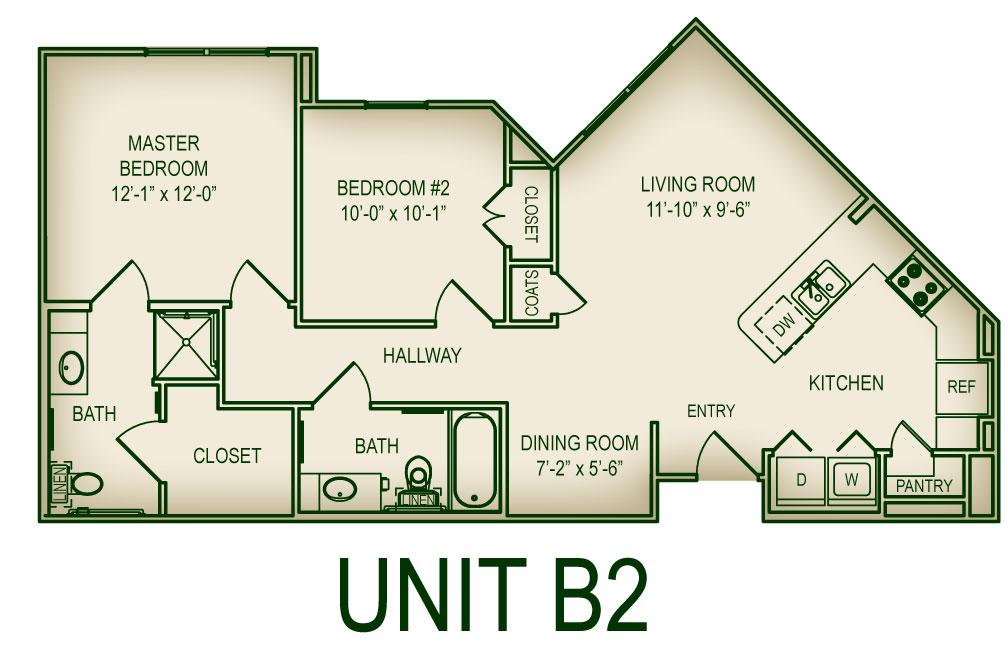Floorplan B2