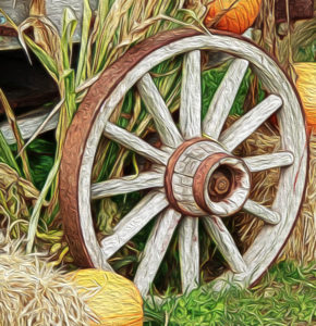 Jane Allegretti - Wagon Wheel - 1st Place - Creative