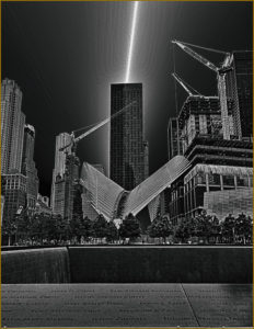 Joe Sanna - Manhattan Rising - 2nd Place - B BW