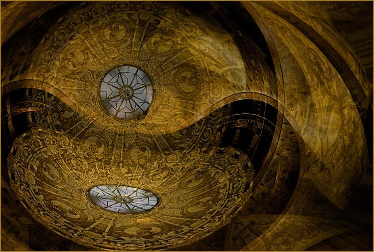 Helen Albano - Rotunda Abstract