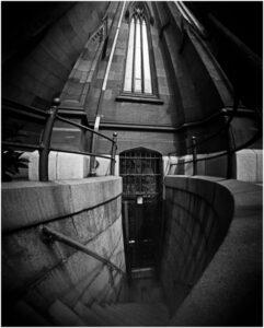 Tom Lloyd - Cathedral Pin Hole Camera - B&W-B