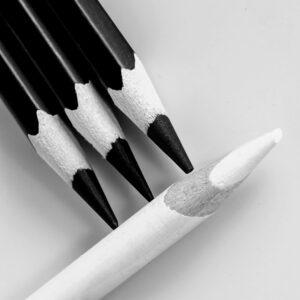 Valerie Interligi - Black And White Pencils - 10 - B&W Salon IOM