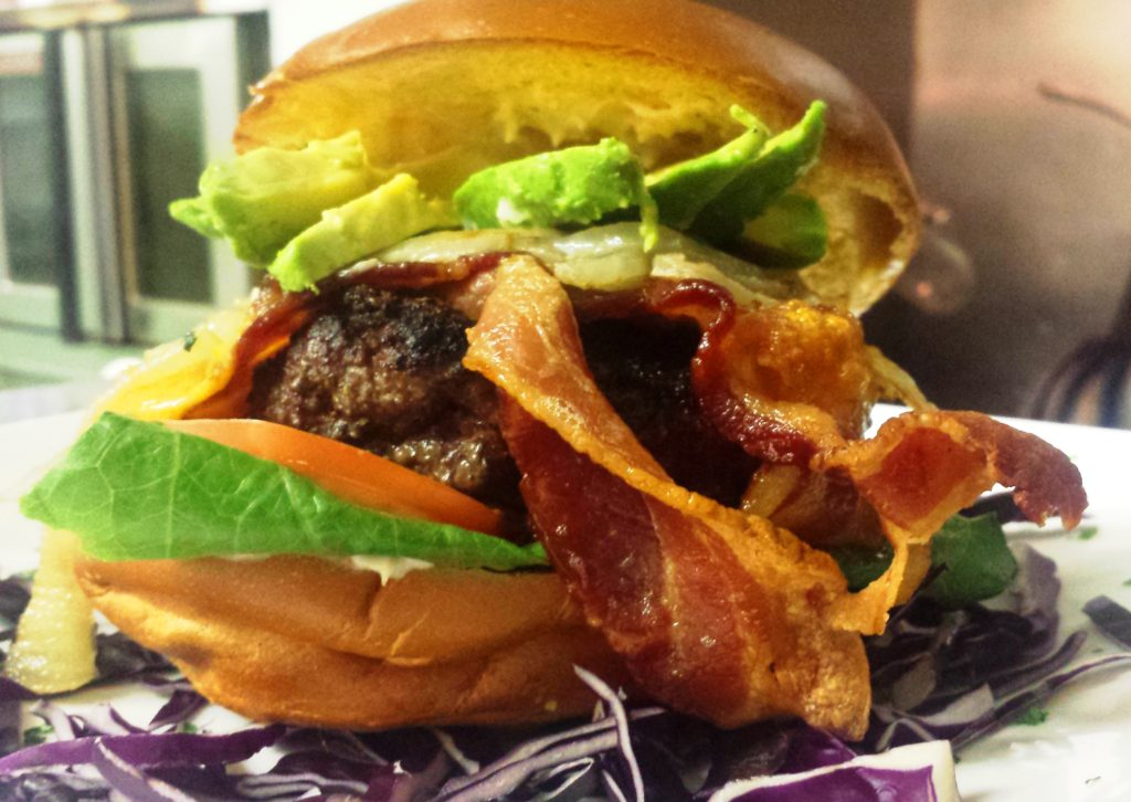 """Our Prize Angus """"Stockyarder"""" Burger"""
