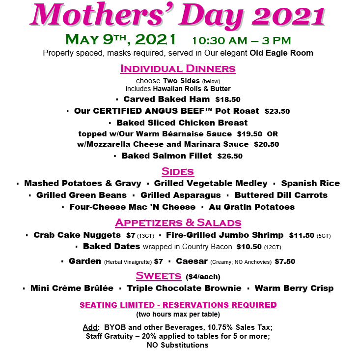 Mothers Day Dine-In Pic