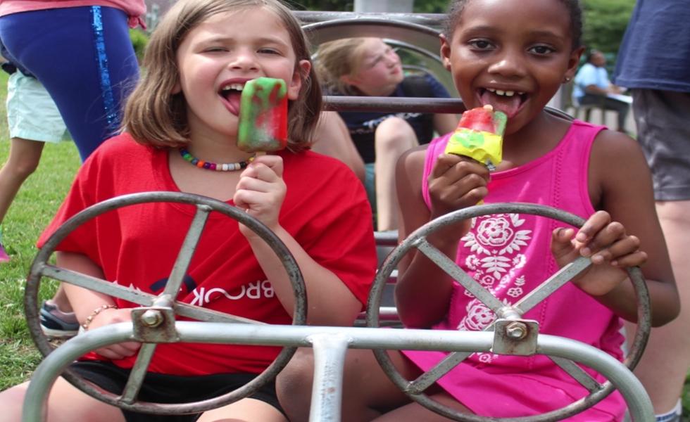 Cedarbrook Day Camp Girls Ice cream