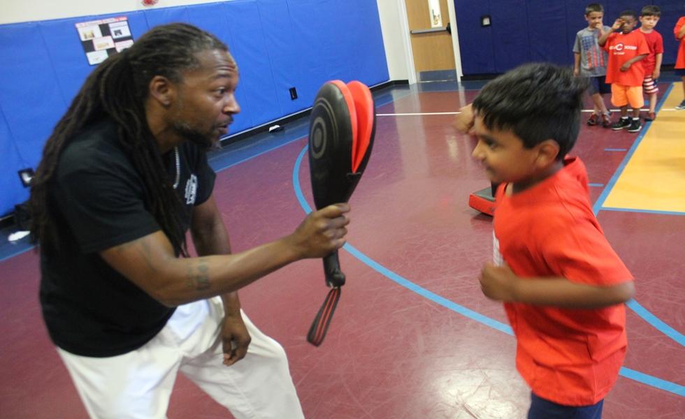 Cedarbrook Day Camp karate