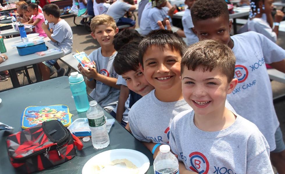 Cedarbrook Day Camp Boys lunch