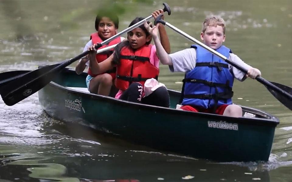 Cedarbrook Day Camp Canoe