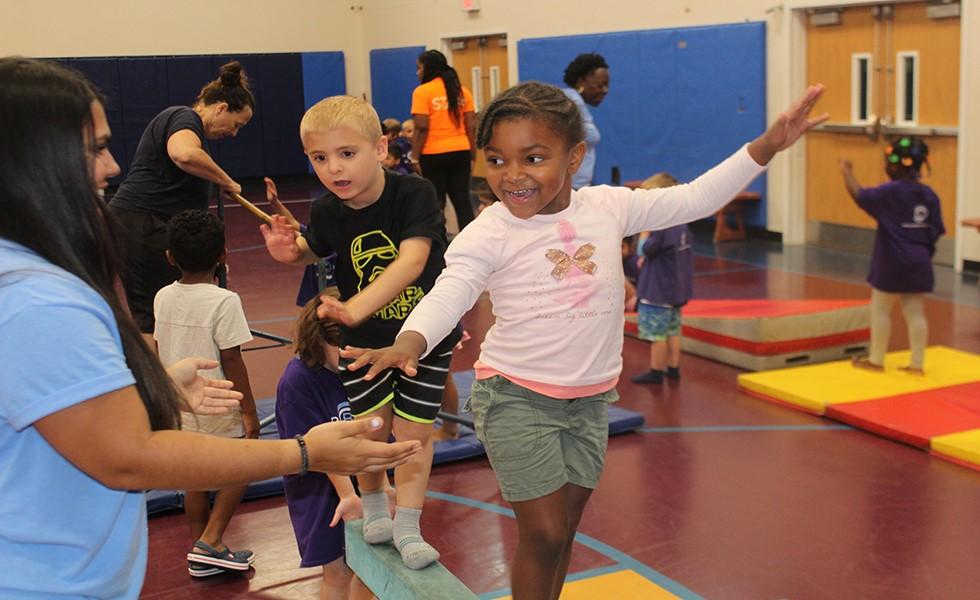 Cedarbrook Day Camp Gymnastics
