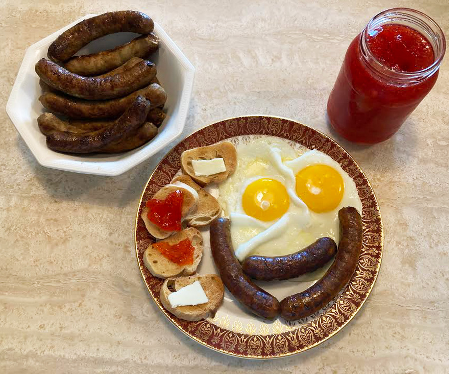Similar to Mild Bulk sausage, but in links - A Great Way to Start Your Day!