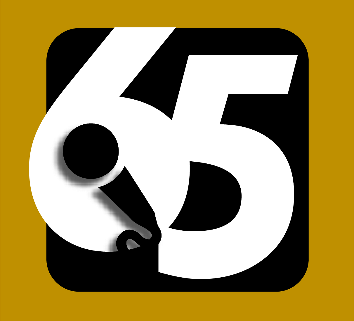 65 and counting Logo Square