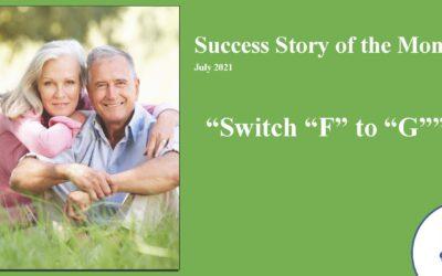 "Switch ""F"" to ""G""! – 2021"