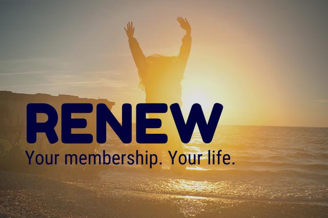 Reminder: Renew Now!