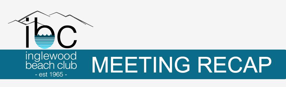 Special Bylaw Amendments Meeting Recap