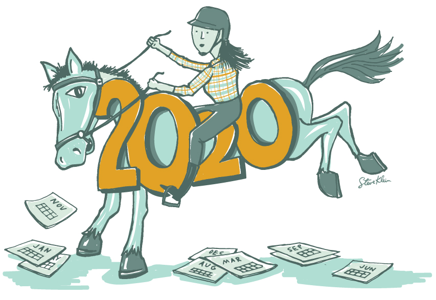 Getting Back Up on That Horse:  The Struggle for Resilience in 2020