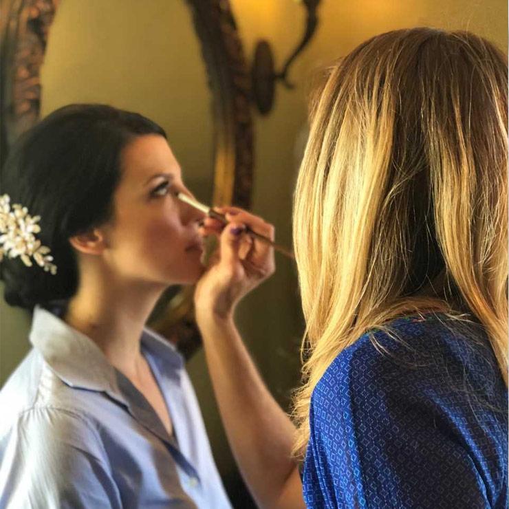 Woodstock Wedding Makeup