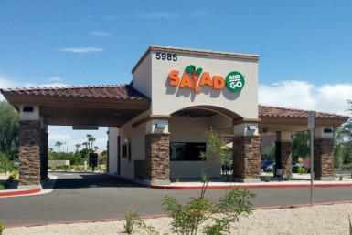 Salad and Go Storefront Chandler Arizona