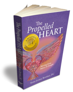 Book Cover for Propelled Heart - by Toni Luisa Rivera