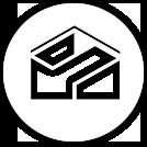 steel frame home builders logo