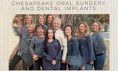 Chesapeake Oral Surgery & Dental Implants Team