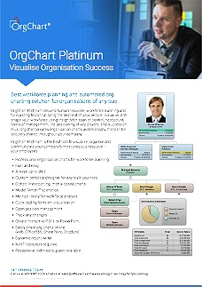OrgChart Platinum 11 Datasheet