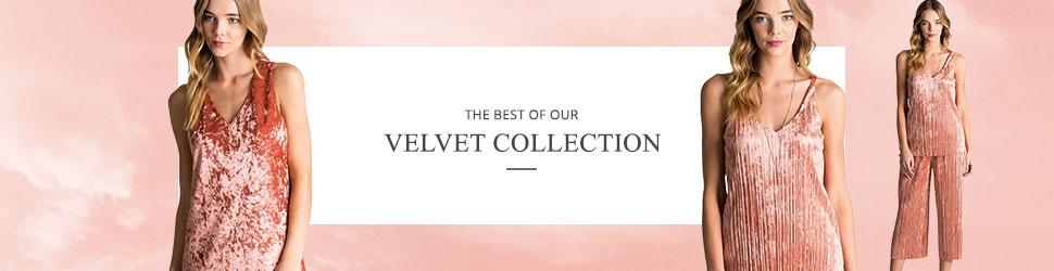 Wholesale Velvet Clothing