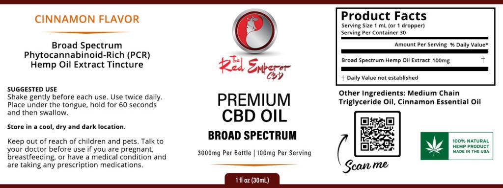 Broad Spectrum CBD Tincture