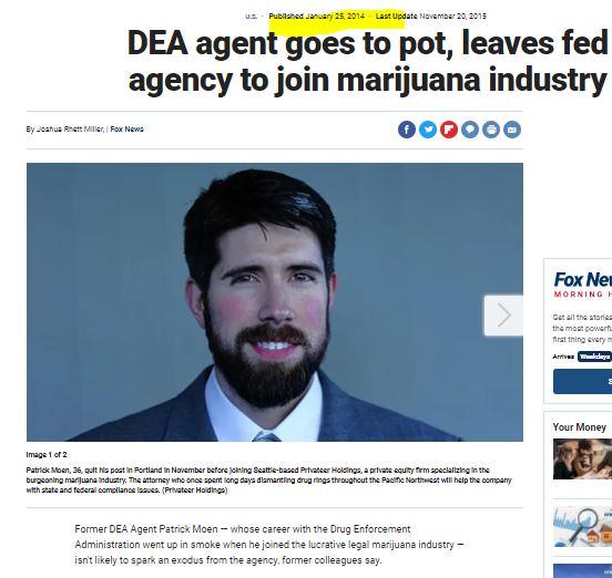 Dea Bitch Joins Marijuana Business