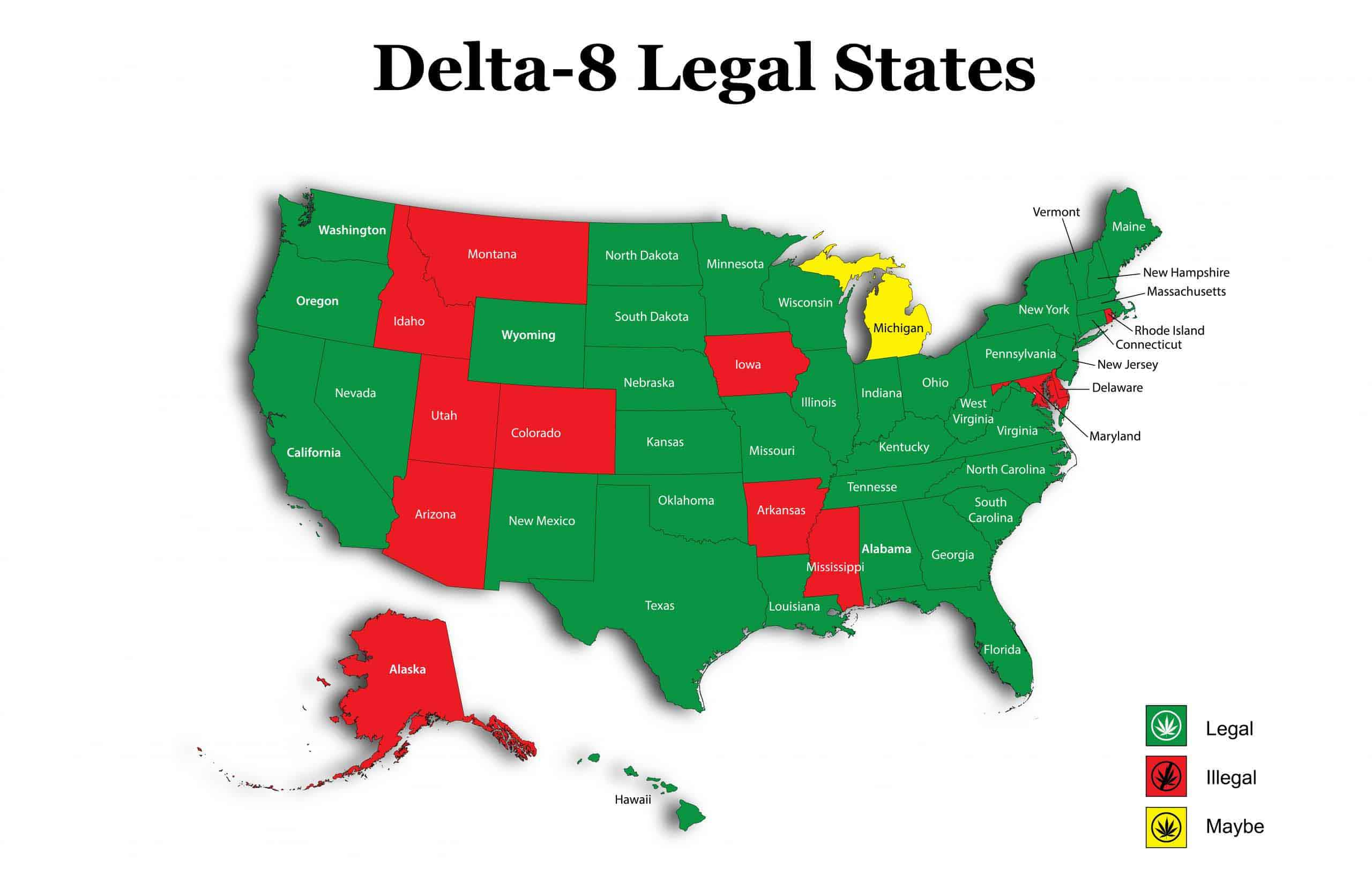 Is Delta 8 THC Legal In My State