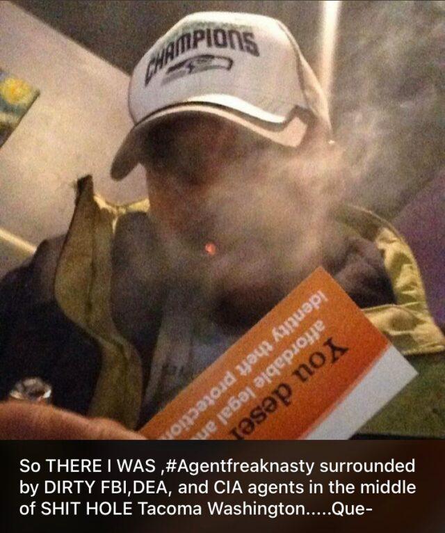 Who is Agent Freak Nasty