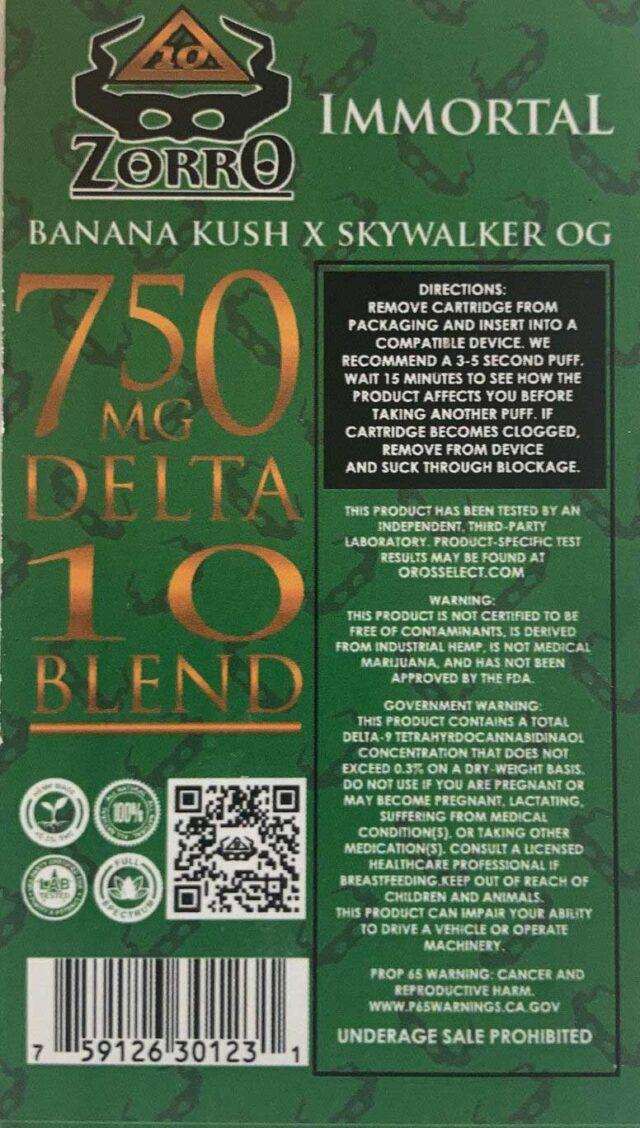 Delta 10 THC Vape Cartridge