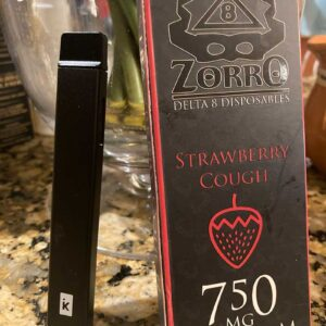 Delta 8 THC Disposable Vape Cart Zorro